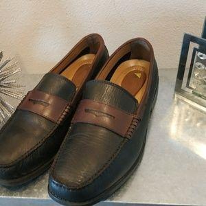 Giorgio Brutini mans loafers sz 13 good condition.